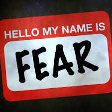 Fear Name Tag